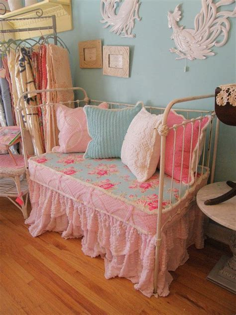 shabby chic daybeds antique chic shabby daybed loveseat vintage chenille