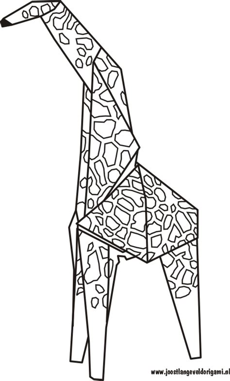 Origami Giraffe Diagram - giraffe origami diagram 171 embroidery origami