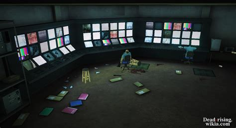 room security image dead rising fortune city arena security room png dead rising wiki fandom powered by