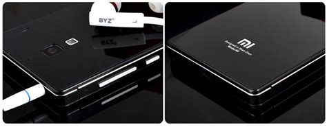 Xiaomi Redmi 1s Screen Mirror Screen Protector redmi 1s mirror glass panel with metal frame black