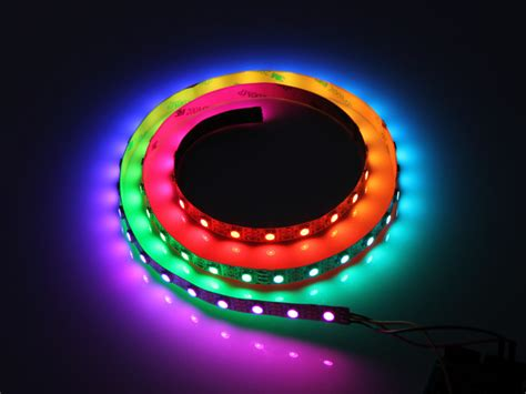 Rgb Smart Led Ws2812b Ws2812 Ws2811 30led Meter ws2812 digital rgb led flexi 30 led 1 meter ws2812 30led 1 meter us 5 00 haoyu