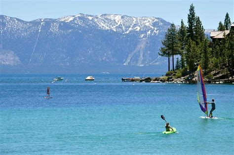 pedal boat south lake tahoe the best cing spots at lake tahoe