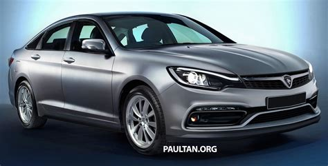 Proton Perdana by Rendered 2016 Proton Perdana Looks Handsome