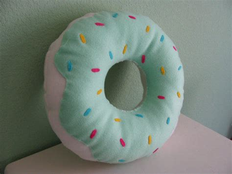 donut cusion large donut pillow from darlingdonuts