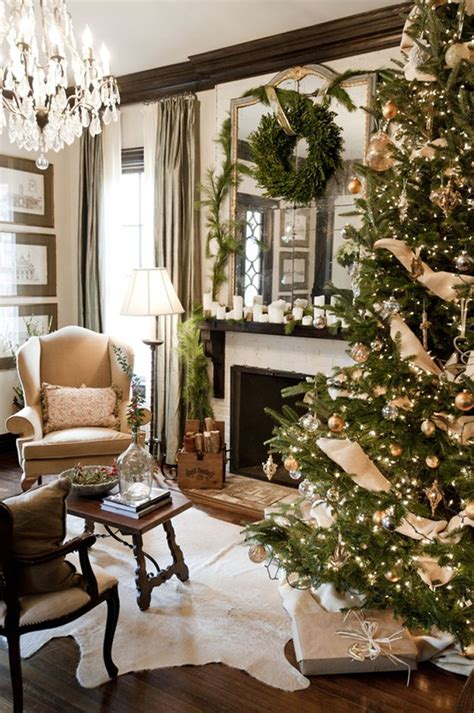 christmas home interiors 25 beautiful christmas tree decorating ideas