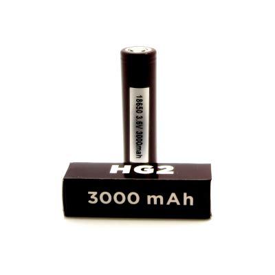 Baterai Lg Hg2 18650 3000mah 35 Original Lg Hg2 Limn 18650 3000mah 20a 35a Peak Battery Vapingzone