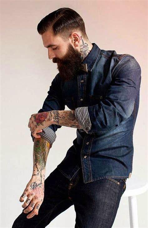male rockabilly models 5 dicas para usar a camisa jeans masculina de acordo com a