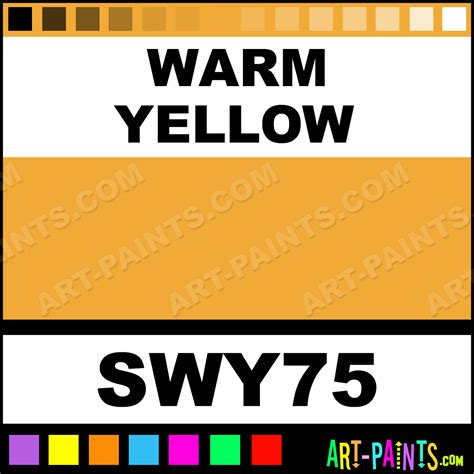 warm yellow student acrylic paints swy75 warm yellow paint warm yellow color global