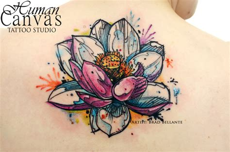 33 watercolor lotus tattoo designs amazing tattoo ideas