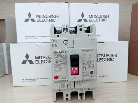 2018 mitsubishi earth leakage circuit breaker nv63 cv 3