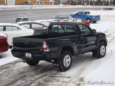 2010 Toyota Tacoma 4x4 4 Cylinder 5 Speed Regular Cab