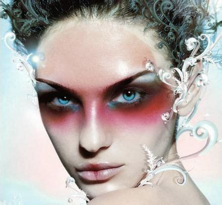 hair and makeup tricks image detail for frosty high fashion fantasy makeup