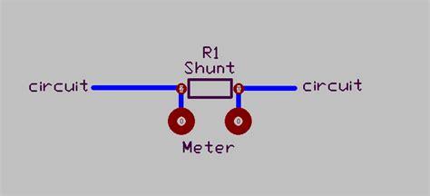 shunt resistor problems metering lifier or transmitter
