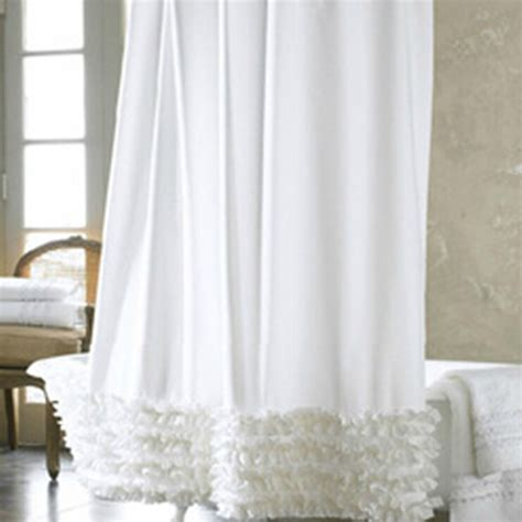 cheap ruffle curtains online buy wholesale ruffle shower curtain from china