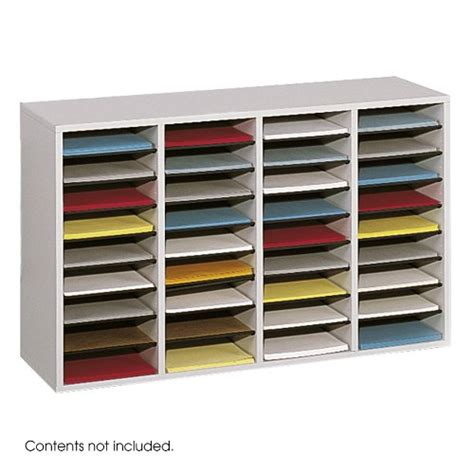 paper sorter shelves wood paper organizer rack mail box office employee mailbox literature storage ebay