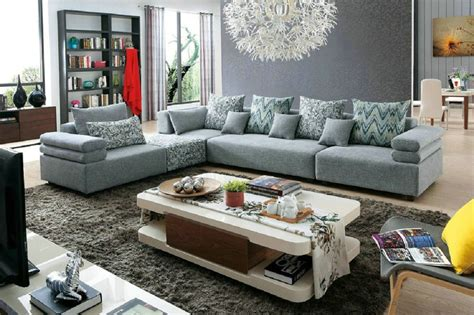 No Sofa Living Room 2016 Muebles Sofas No For Living Room European Style Set Modern Fabric Sale Low Price