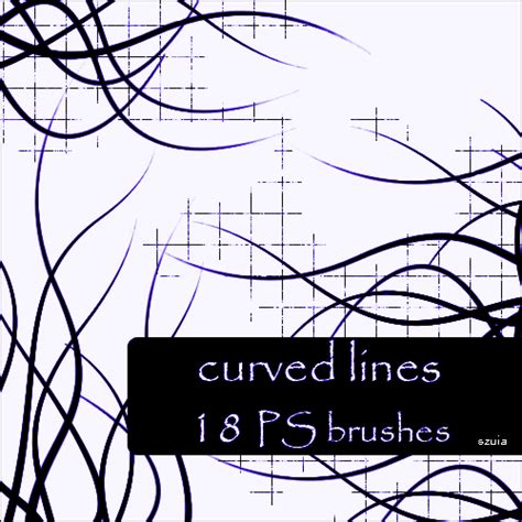 photoshop brush pattern lines curved lines decorative photoshop brushes brushlovers com