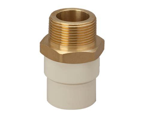 finolex mta fitting treaded adaptor brass insert