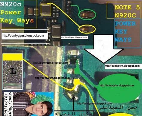 Ic Power Sam N910 Note 4 Ori samsung galaxy note 5 n920c on power button key