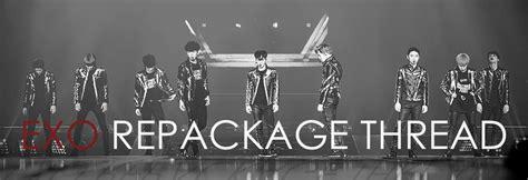 Exo Exact Repackage Lotto 엑소 exo repackage comeback thread e o lotto lotto
