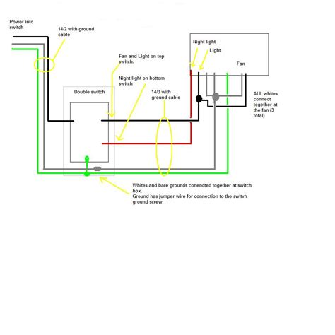 Wiring Bathroom Fan And Light Well Switch Wiring Diagram Get Free Image About Wiring Diagram