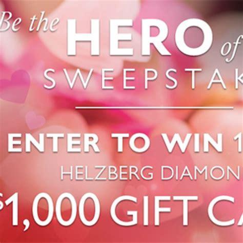 Helzberg Sweepstakes - win 1 of 10 helzberg diamond gift cards granny s giveaways