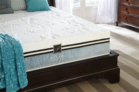 Plush Beds Mattress by Plushbeds Pacific 10 Quot Gel Memory Foam Mattress