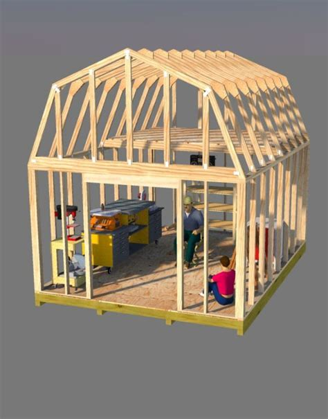 build  awesome  barn style shed    ton