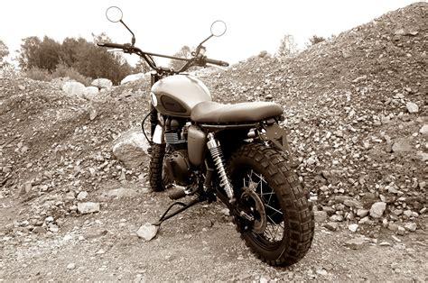 Motorrad Denk by Umgebautes Motorrad Triumph Scrambler Zweiradparadies