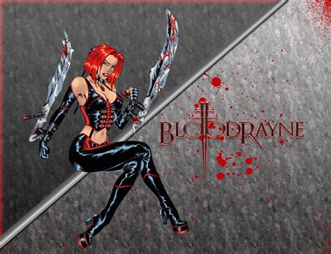 bloodrayne  mac computers  photo wallpaper