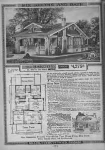 Sears Kit Homes Floor Plans Sears Craftsman Bungalow House Plans 1920s Craftsman