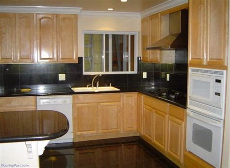 Does Flooring Go Cabinets by What Color Wood Floor With Maple Cabinets Cabinet Wood