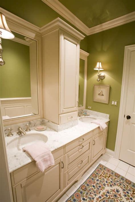 Countertop Middle Storage Cabinet Between Vanities And Small Bathroom Vanity With Storage