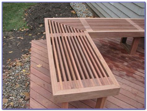 comfortable seating deck bench plans diy deck bench seating decks home decorating ideas