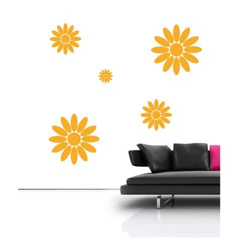 Ay857 Sun Flower Wall Sticker Stiker sun flowers wall stickers floral wall stickers