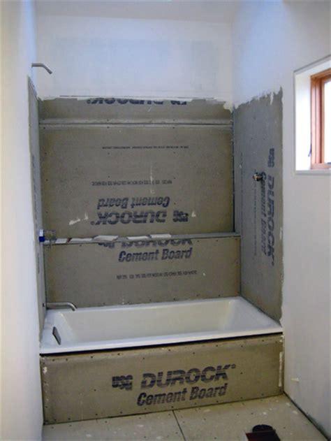 Hardibacker Shower Walls by Bathroom Process Chezerbey