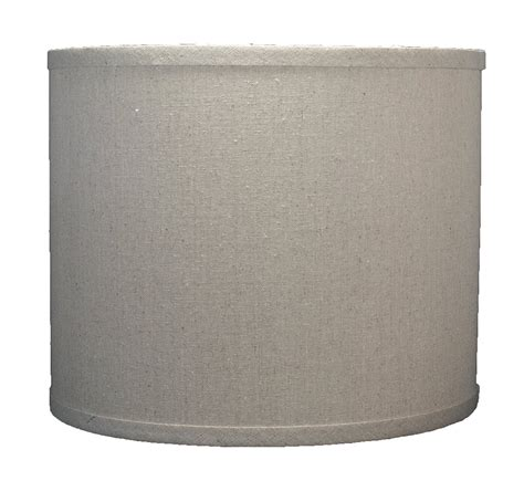 10 inch drum l shade urbanest burlap drum l shade 12 inch by 12 inch by 10