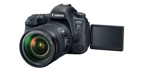 Kamera Canon Frame canon rilis kamera frame eos 6d ii teknologi