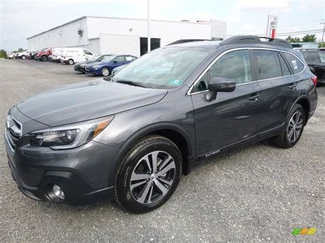 2018 Magnetite Gray Metallic Subaru Outback 2 5i Limited