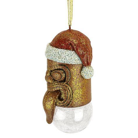hawaii hawaiian warrior decor tiki god christmas tree