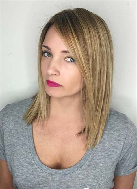 long bob haircuts for fine hair and short neck 55 short hairstyles for women with thin hair fashionisers