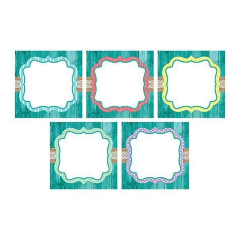 shabby chic large accents center signs class rules and