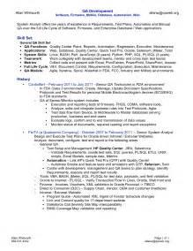 best qa resume - Sample Resume Software Tester