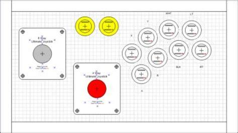 joystick layout template togeo com 187 blog archive 187 my street fighter themed custom