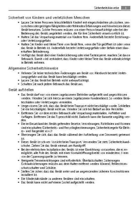Aeg Ceranfeld Bedienungsanleitung by Aeg Electrolux E335125mbackofen Handbuch In