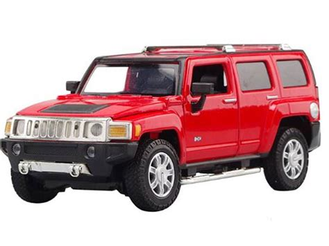 Diecast Hummer yellow 1 24 scale diecast hummer h3 model hm1b002