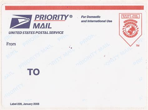 printable priority mail label label 228 wikiwand