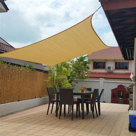 backyard shade sails amazoncom shade sails patio lawn garden objectif 2017