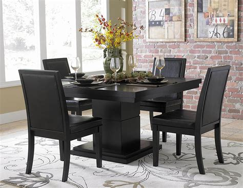 black dining room bench dining room table and chairs ideas with images