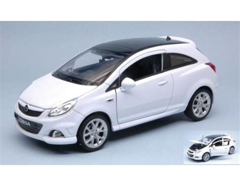 opel corsa opc white welly we22511w opel corsa opc 2008 white 1 24 modellino